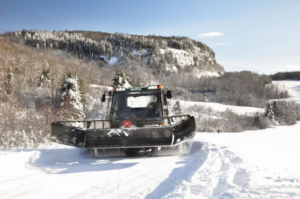 Conditions de ski dans lanaudiere st jean de matha ski montagne coup e - Montagne coupee ski de fond ...